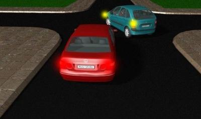 Неправильно включенный поворотник при повороте можно расценивать как провокацию ДТП