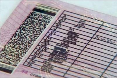В водительских правах нового образца всего 14 категорий и подкатегорий