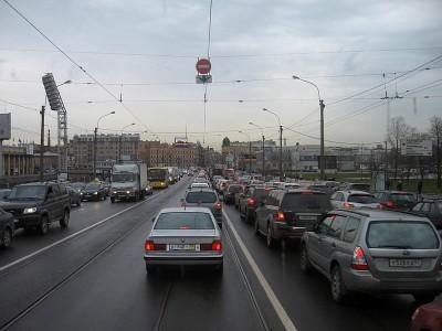 Штраф за выезд на трамвайные пути