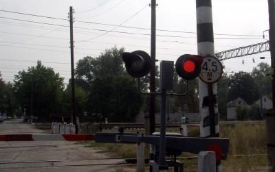 Проезд жд на красный