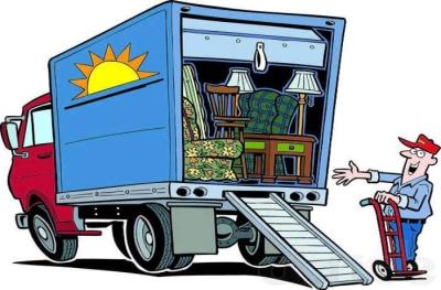 Парковка грузовиков на тротуаре разрешена лишь для погрузки-разгрузки, после чего нужно немедленно убрать транспорт