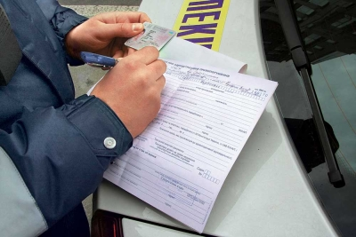 Штраф за отсутствие ОСАГО составляет не больше 800 рублей