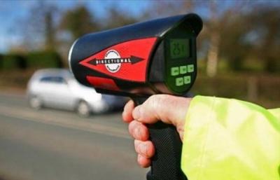 За превышениие скорости на 20-40 км в час грозит штраф в 500 рублей