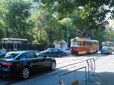 Наказание за выезд на трамвайные пути