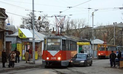 дтп на трамвайной линии двух автомобилей