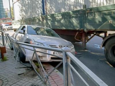 аварии дтп препятствия