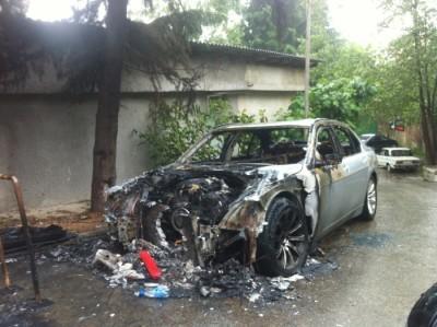 продать машину на запчасти сгоревший